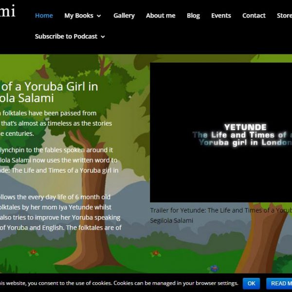 author website segilola salami segilola publishing