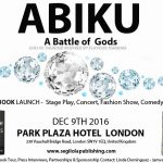 sponsor book launch event abiku a battle of gods